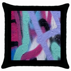 Texture Pattern Abstract Background Throw Pillow Case (black)