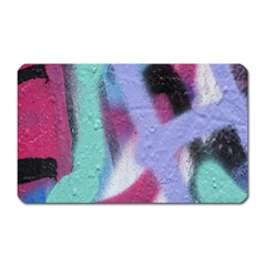 Texture Pattern Abstract Background Magnet (rectangular)
