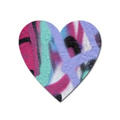 Texture Pattern Abstract Background Heart Magnet