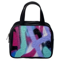 Texture Pattern Abstract Background Classic Handbags (One Side)