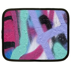 Texture Pattern Abstract Background Netbook Case (XL)