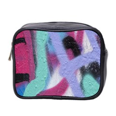 Texture Pattern Abstract Background Mini Toiletries Bag 2-Side