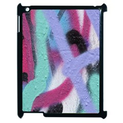 Texture Pattern Abstract Background Apple iPad 2 Case (Black)