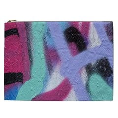 Texture Pattern Abstract Background Cosmetic Bag (XXL)