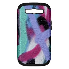 Texture Pattern Abstract Background Samsung Galaxy S Iii Hardshell Case (pc+silicone)
