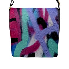 Texture Pattern Abstract Background Flap Messenger Bag (l)