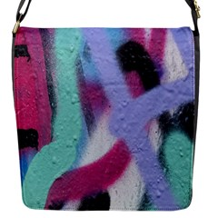 Texture Pattern Abstract Background Flap Messenger Bag (s)