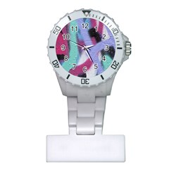 Texture Pattern Abstract Background Plastic Nurses Watch