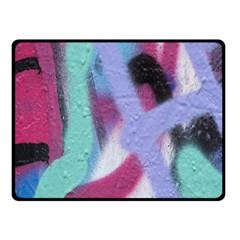 Texture Pattern Abstract Background Double Sided Fleece Blanket (Small)