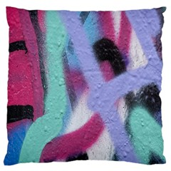Texture Pattern Abstract Background Large Flano Cushion Case (two Sides)