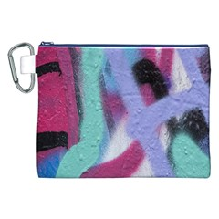 Texture Pattern Abstract Background Canvas Cosmetic Bag (XXL)