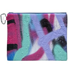 Texture Pattern Abstract Background Canvas Cosmetic Bag (XXXL)