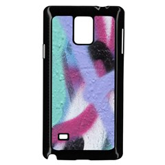 Texture Pattern Abstract Background Samsung Galaxy Note 4 Case (Black)