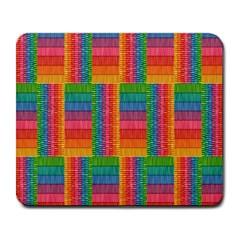 Texture Surface Rainbow Festive Large Mousepads