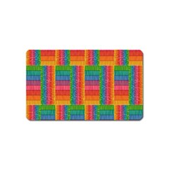Texture Surface Rainbow Festive Magnet (name Card)