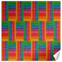 Texture Surface Rainbow Festive Canvas 12  x 12