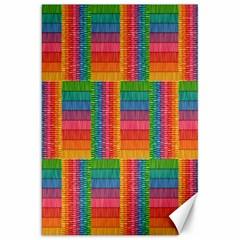Texture Surface Rainbow Festive Canvas 20  x 30
