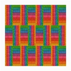 Texture Surface Rainbow Festive Medium Glasses Cloth
