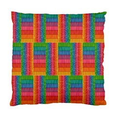 Texture Surface Rainbow Festive Standard Cushion Case (One Side)