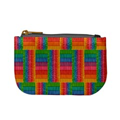 Texture Surface Rainbow Festive Mini Coin Purses