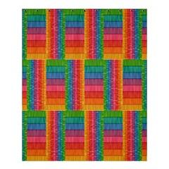 Texture Surface Rainbow Festive Shower Curtain 60  x 72  (Medium)
