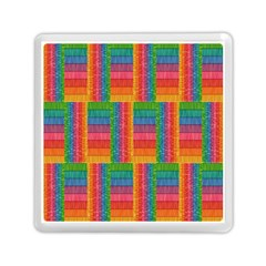 Texture Surface Rainbow Festive Memory Card Reader (square)