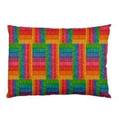 Texture Surface Rainbow Festive Pillow Case (Two Sides)