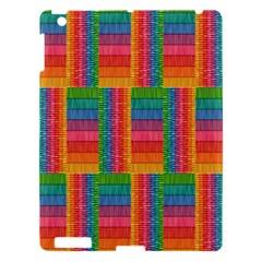 Texture Surface Rainbow Festive Apple Ipad 3/4 Hardshell Case