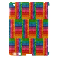 Texture Surface Rainbow Festive Apple Ipad 3/4 Hardshell Case (compatible With Smart Cover)