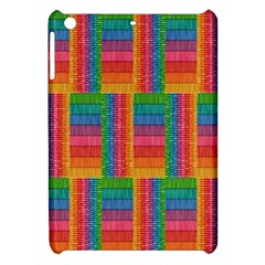 Texture Surface Rainbow Festive Apple Ipad Mini Hardshell Case