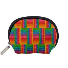 Texture Surface Rainbow Festive Accessory Pouches (small)