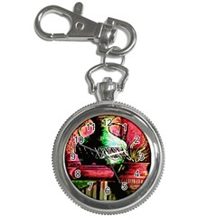 Three Earthen Vases Key Chain Watches