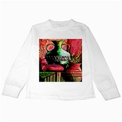 Three Earthen Vases Kids Long Sleeve T-Shirts