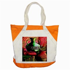 Three Earthen Vases Accent Tote Bag