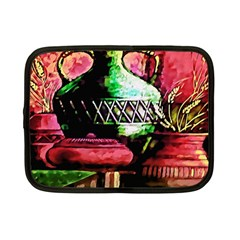 Three Earthen Vases Netbook Case (Small)