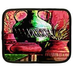 Three Earthen Vases Netbook Case (XL)