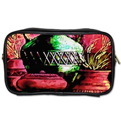 Three Earthen Vases Toiletries Bags 2-Side