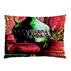 Three Earthen Vases Pillow Case (two Sides)