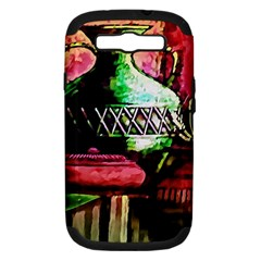Three Earthen Vases Samsung Galaxy S Iii Hardshell Case (pc+silicone)
