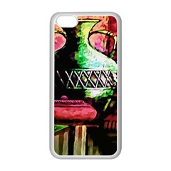 Three Earthen Vases Apple iPhone 5C Seamless Case (White)
