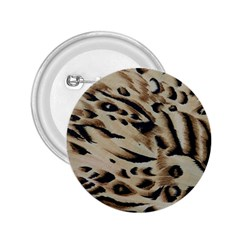 Tiger Animal Fabric Patterns 2.25  Buttons