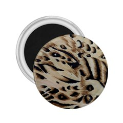 Tiger Animal Fabric Patterns 2 25  Magnets