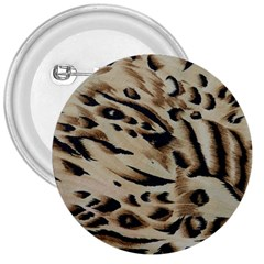 Tiger Animal Fabric Patterns 3  Buttons