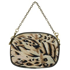 Tiger Animal Fabric Patterns Chain Purses (one Side)