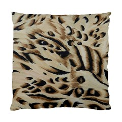 Tiger Animal Fabric Patterns Standard Cushion Case (one Side)