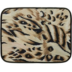 Tiger Animal Fabric Patterns Double Sided Fleece Blanket (mini)