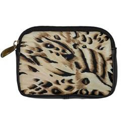 Tiger Animal Fabric Patterns Digital Camera Cases
