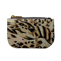 Tiger Animal Fabric Patterns Mini Coin Purses
