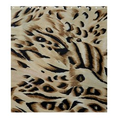 Tiger Animal Fabric Patterns Shower Curtain 66  X 72  (large)