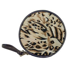 Tiger Animal Fabric Patterns Classic 20 Cd Wallets